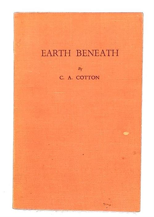 Earth Beneath, 1945, inscribed and signed by C. A. Cotton