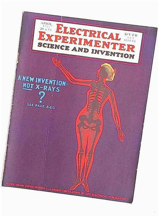 Electrical Experimenter, April 1919
