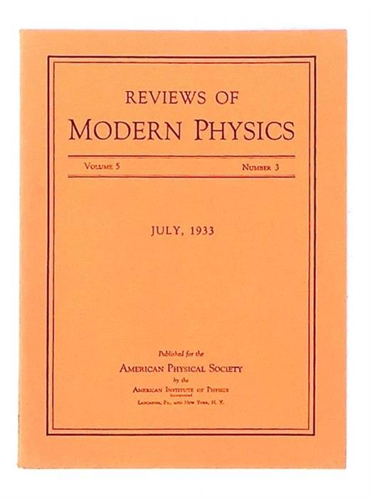 Ether-Drift Experiment and the Determination of the Absolute Motion of the Earth, 1933 [Michelson-Morley Experiment]