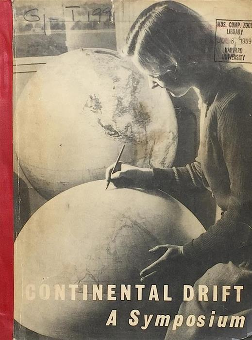 Extremely Rare: Continental Drift - A Symposium, Hobart, 1956 [Stephen Jay Gould's copy]