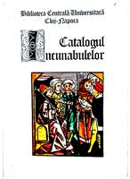 Catalogul incunabulelor