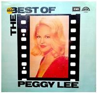 The best of Peggy Lee - disc vinil